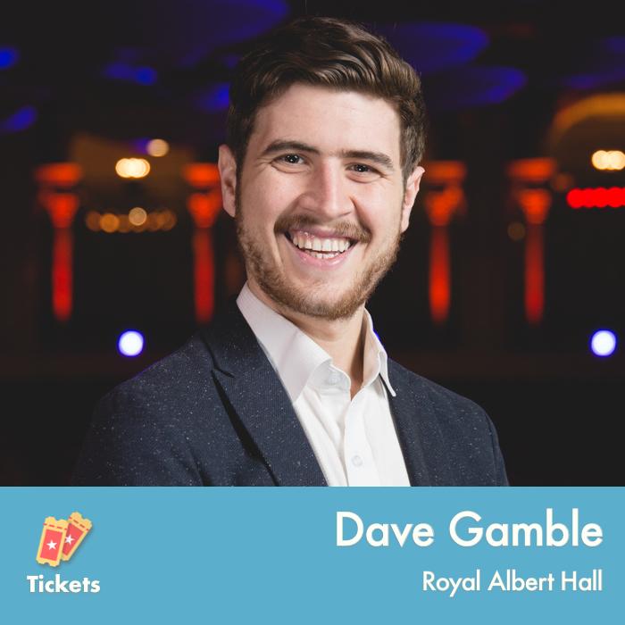 Dave Gamble, Royal Albert Hall